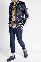 Valentino Printed Satin Jacket
