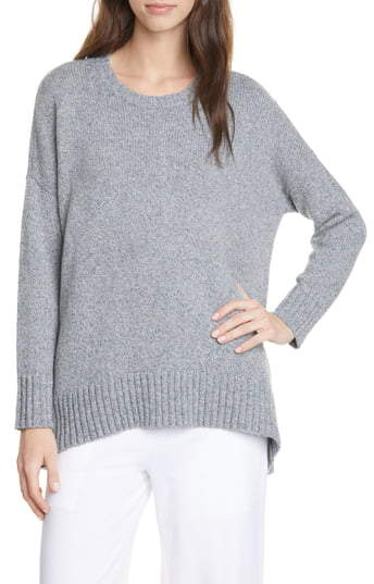 Eileen Fisher Oversize Crewneck Pullover
