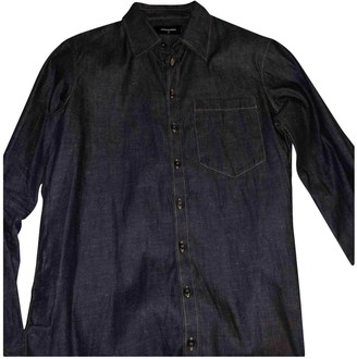 DSQUARED2 Navy Denim - Jeans Shirts