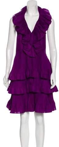 Christian Dior Silk Cocktail Dress