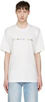 Sunnei White everyday I Wear T-shirt