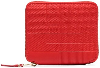 Comme des Garcons Intersection zip-around wallet