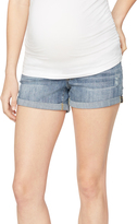 A Pea in the Pod Luxe Essentials Cuffed Maternity Shorts