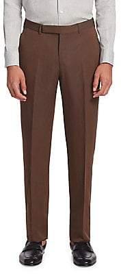 Ermenegildo Zegna Men's Wool & Linen Trousers