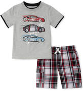 Kids Headquarters 2-Pc. Graphic-Print T-Shirt & Shorts Set, Toddler Boys