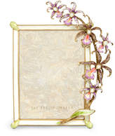 """Jay Strongwater Orchid 5"""" x 7"""" Frame"""