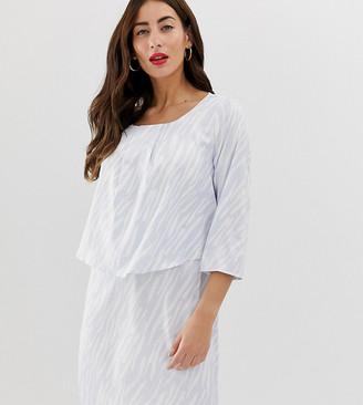 Mama Licious Mama.Licious Mamalicious nursing layered dress-White