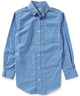 Class Club Big Boys 8-20 Button-Front Gingham Shirt