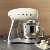 Crate & Barrel Smeg Cream Retro Stand Mixer
