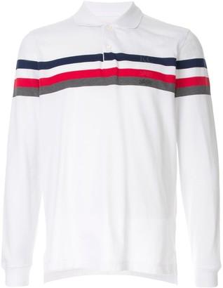 Kent & Curwen striped detail polo shirt