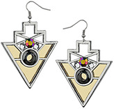 Topshop Geo Triangle Drop Earrings
