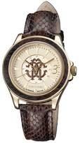 Roberto Cavalli Women's Champagne Watch.