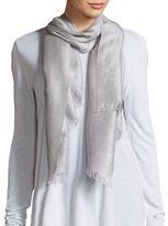 Badgley Mischka Wool Blend Printed Scarf