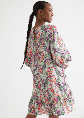 And other stories Relaxed A-Line Mini Dress