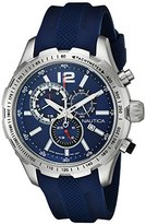 Nautica Men's NAD15513G NST 30 Analog Display Quartz Blue Watch