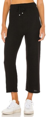 DONNI Sweater Cropped Flare Pant