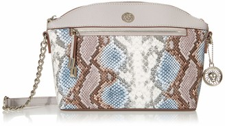 Anne Klein womens Classic Curve Snake Crossbody Bag