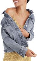 Madewell Boxy Crop Garment Dye Jacket