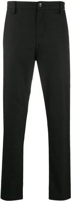 Calvin Klein Logo Patch Tapered-Leg Trousers