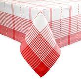 Radish Plaid Tablecloth