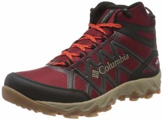Columbia Men's Peakfreak X2 MID Outdry High Rise Hiking Boots Red (Red Jasper Sup) 10 UK 44 EU