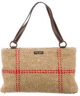 Kate Spade Wool & Leather Shoulder Bag
