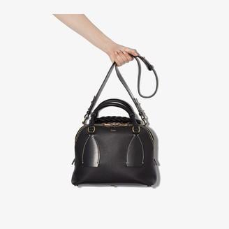 Chloé blue Daria medium leather shoulder bag