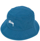 Stussy logo embossed hat - men - Cotton - S/M