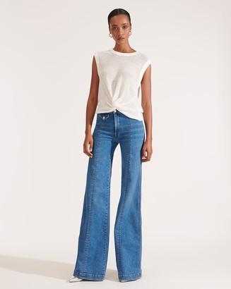 Veronica Beard Ember Wide-Leg Jean