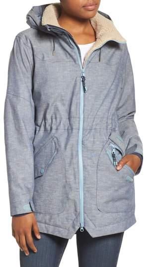 Burton Prowess Fleece Lined Water Resistant Jacket