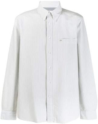 Calvin Klein striped shirt