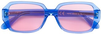 RetroSuperFuture Limone Wagwan rectangular sunglasses