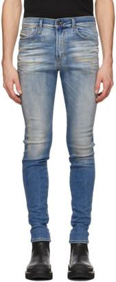 Diesel Blue D-Istort 009JJ Jeans