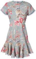 Zimmermann floral print ruffled dress - women - Silk - 1