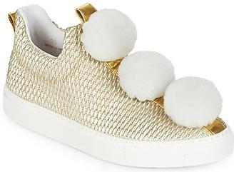 Minna Parikka POM POM women's Shoes (Trainers) in Gold