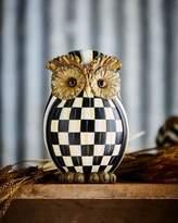 Mackenzie Childs MacKenzie-Childs Courtly Check Owl