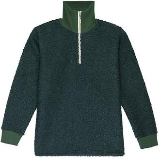 DONNI Curly Half-Zip Pullover
