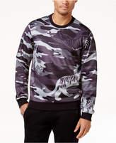 Versace Men's Camo Graphic Print Sweatshirt