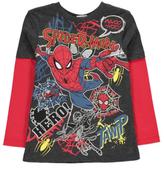 George Marvel Comics Spider-Man Long Sleeve Top