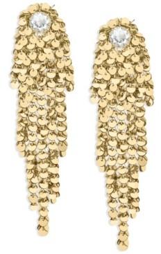 ZAXIE by Stefanie Taylor Long Seuqin Earrings