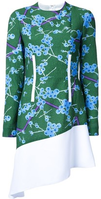 Carven Floral Pattern Dress