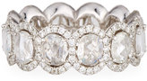 Diana M. Jewels 18k Diamond Eternity Wedding Band Ring