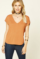 Forever 21 FOREVER 21+ Contemporary Back Cutout Top