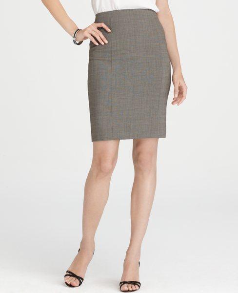 Ann Taylor Antoinette Peplum Back Skirt
