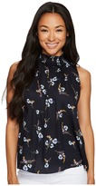 Rebecca Taylor Sleeveless Natalie Fleur Top Women's Sleeveless