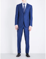 Canali Double Pinstripe Wool Suit