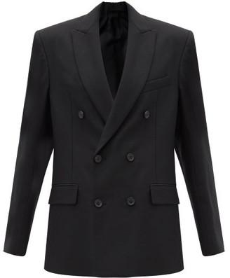 Wardrobe.Nyc Wardrobe.nyc - Double Breasted Merino Wool Blazer - Womens - Black