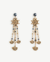 Ann Taylor Burnished Statement Earrings