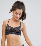 Monki Lace Cross Back Bralette