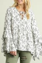 Umgee USA Wild For Flowers Top